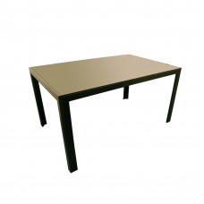 Rectangle Table with Glass Table Top (L: 57